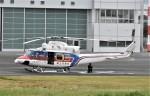 ヘリオスさんが、東京ヘリポートで撮影した国土交通省 地方整備局 412EPの航空フォト(写真)