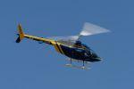 兄ちゃんさんが、双葉滑空場で撮影したジャネット 206B JetRanger IIIの航空フォト(写真)