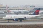 安芸あすかさんが、ロサンゼルス国際空港で撮影したデルタ航空 A319-114の航空フォト(写真)