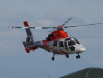 ここはどこ?さんが、札幌飛行場で撮影した北海道防災航空隊 AS365N3 Dauphin 2の航空フォト(写真)