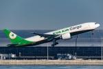 Ariesさんが、関西国際空港で撮影したエバー航空 777-F5Eの航空フォト(写真)