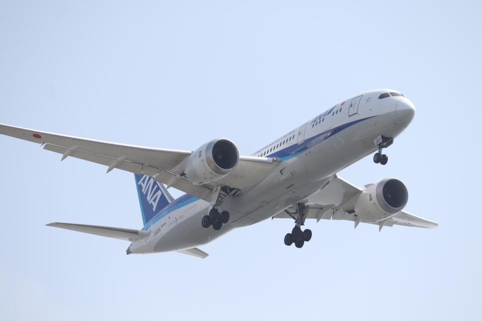 フレッシュマリオさんの全日空 Boeing 787-8 Dreamliner (JA825A) 航空フォト