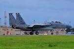うとPさんが、横田基地で撮影したアメリカ空軍 F-15C-38-MC Eagleの航空フォト(写真)
