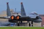 うとPさんが、横田基地で撮影したアメリカ空軍 F-15C-34-MC Eagleの航空フォト(写真)