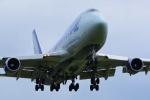 うとPさんが、横田基地で撮影したナショナル・エア・カーゴ 747-428(BCF)の航空フォト(写真)