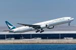 Ariesさんが、関西国際空港で撮影したキャセイパシフィック航空 777-367の航空フォト(写真)
