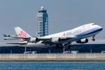 Ariesさんが、関西国際空港で撮影したチャイナエアライン 747-409F/SCDの航空フォト(写真)