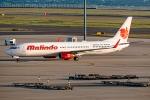 Ariesさんが、中部国際空港で撮影したマリンド・エア 737-9GP/ERの航空フォト(写真)