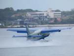 yutopさんが、なかうみスカイポートで撮影したせとうちSEAPLANES Kodiak 100の航空フォト(写真)