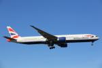 安芸あすかさんが、ロンドン・ヒースロー空港で撮影したブリティッシュ・エアウェイズ 777-36N/ERの航空フォト(写真)