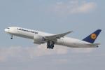 安芸あすかさんが、ロサンゼルス国際空港で撮影したルフトハンザ・カーゴ 777-FBTの航空フォト(写真)