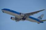 SSB46さんが、関西国際空港で撮影したKLMオランダ航空 777-206/ERの航空フォト(写真)