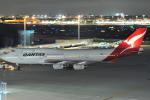 デデゴンさんが、羽田空港で撮影したカンタス航空 747-438の航空フォト(飛行機 写真・画像)