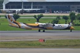 amagoさんが、ドンムアン空港で撮影したノックエア DHC-8-402Q Dash 8の航空フォト(飛行機 写真・画像)