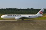 あしゅーさんが、熊本空港で撮影した日本航空 767-346/ERの航空フォト(飛行機 写真・画像)