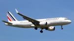 誘喜さんが、ロンドン・ヒースロー空港で撮影したエールフランス航空 A320-214の航空フォト(写真)