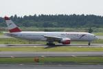 神宮寺ももさんが、成田国際空港で撮影したオーストリア航空 777-2B8/ERの航空フォト(写真)