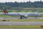 神宮寺ももさんが、成田国際空港で撮影したフィリピン航空 A321-271NXの航空フォト(写真)