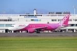 EosR2さんが、鹿児島空港で撮影したピーチ A320-214の航空フォト(写真)
