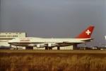 tassさんが、成田で撮影したスイス航空 747-357の航空フォト(写真)