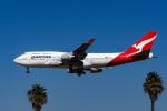 LAX Spotterさんが、ロサンゼルス国際空港で撮影したカンタス航空 747-438の航空フォト(写真)