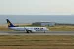 double_licenseさんが、神戸空港で撮影したスカイマーク 737-81Dの航空フォト(写真)