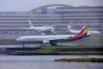 まいけるさんが、羽田空港で撮影したアシアナ航空 A330-323Xの航空フォト(写真)