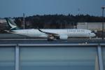 OMAさんが、成田国際空港で撮影したキャセイパシフィック航空 A350-941XWBの航空フォト(飛行機 写真・画像)