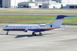 yabyanさんが、名古屋飛行場で撮影したCOLONY LEASECO LLC G-V-SP Gulfstream G550の航空フォト(飛行機 写真・画像)