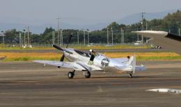 EosR2さんが、鹿児島空港で撮影したイギリス企業所有 361 Spitfire LF9Cの航空フォト(飛行機 写真・画像)