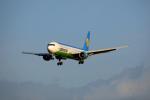 tsubameさんが、福岡空港で撮影したウズベキスタン航空 767-33P/ERの航空フォト(写真)
