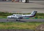 雲霧さんが、羽田空港で撮影した中日本航空 B200 Super King Airの航空フォト(写真)