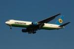 採れたてほしいもさんが、仁川国際空港で撮影したウズベキスタン航空 767-33P/ER(BCF)の航空フォト(写真)