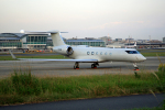 tsubameさんが、福岡空港で撮影したAS AVIATION HOLDINGS G-V Gulfstream Vの航空フォト(写真)