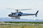 Gambardierさんが、岡南飛行場で撮影した中日本航空 AS350B Ecureuilの航空フォト(写真)