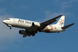 採れたてほしいもさんが、仁川国際空港で撮影したエア・インチョン 737-4Y0/SFの航空フォト(飛行機 写真・画像)