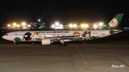 RINA-281さんが、小松空港で撮影したエバー航空 A330-302Xの航空フォト(写真)