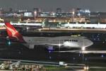 おかめさんが、羽田空港で撮影したカンタス航空 747-438/ERの航空フォト(写真)