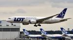 FlyingMonkeyさんが、成田国際空港で撮影したLOTポーランド航空 787-8 Dreamlinerの航空フォト(写真)