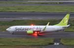 ハム太郎。さんが、羽田空港で撮影したソラシド エア 737-881の航空フォト(写真)