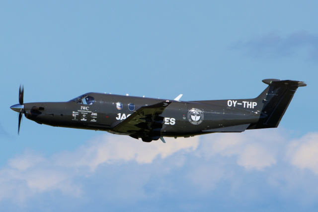2019年10月15日に撮影されたデンマーク企業所有の航空機写真