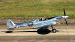 captain_uzさんが、名古屋飛行場で撮影したイギリス企業所有 361 Spitfire LF9Cの航空フォト(写真)