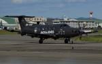 青い翼に鎧武者マークの!さんが、名古屋飛行場で撮影したデンマーク企業所有 PC-12/47Eの航空フォト(写真)