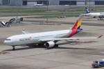 BOEING737MAX-8さんが、羽田空港で撮影したアシアナ航空 A330-323Xの航空フォト(写真)