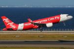 きんめいさんが、中部国際空港で撮影したエアアジア・ジャパン A320-216の航空フォト(写真)