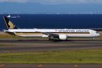 きんめいさんが、中部国際空港で撮影したシンガポール航空 787-10の航空フォト(写真)