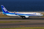 きんめいさんが、中部国際空港で撮影した全日空 737-8ALの航空フォト(写真)
