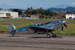 髪刈虫(かみきりむし)さんが、名古屋飛行場で撮影したイギリス企業所有 361 Spitfire LF9Cの航空フォト(写真)