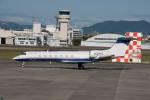 髪刈虫(かみきりむし)さんが、名古屋飛行場で撮影したアメリカ企業所有 C-37B Gulfstream G550 (G-V-SP)の航空フォト(写真)