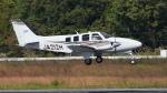 撮り撮り人さんが、岡山空港で撮影した学校法人ヒラタ学園 航空事業本部 G58 Baronの航空フォト(写真)